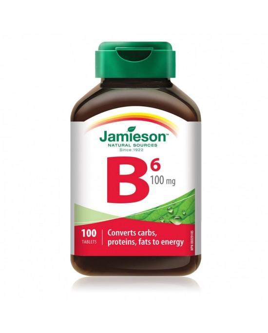 VITAMIN B6 (Piridoxina) 100 mg