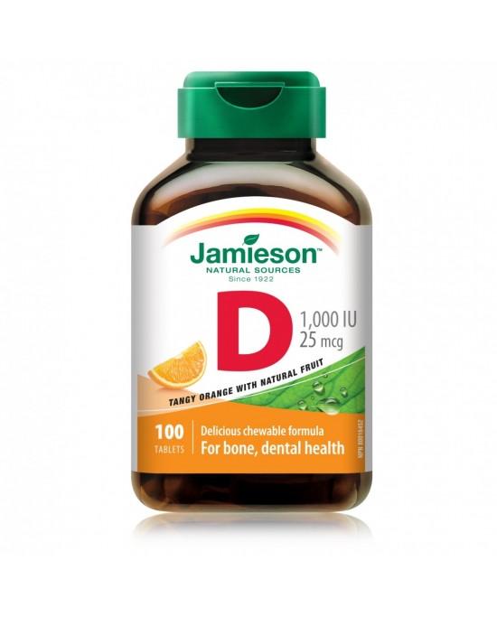 Vitamina D3 25mcg Naranja